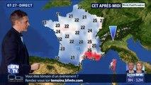 Pluies et températures en forte baisse: la météo de ce samedi