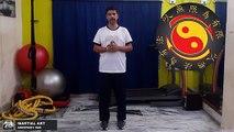 Jeet Kune Do Martial Arts Techniques  How to Do The Groin Kick,( Gua Tek) in [Hindi - हिन्दी]