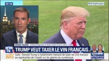 Taxer le vin Français : Trump veut frapper les esprits