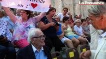 Nos images du concert de Mireille Mathieu aux carrières de Lacoste chez Pierre Cardin