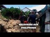 Aux Philippines, deux séismes successifs ont fait plusieurs morts