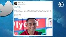 La Twittosphère se paye Thibaut Courtois après ses buts encaissés face à l'Atlético