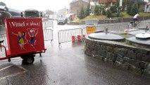 Tour de France : des trombes d'eau à Val Thorens