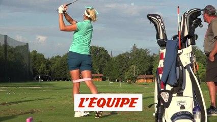 Lexi Thompson, la puissance d'abord - Golf - The Evian