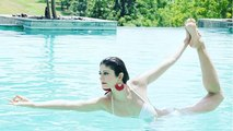 Pooja Batra's aqua yoga photo will wins your heart | Boldsky