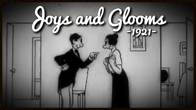 Joys and Glooms (1921) Vintage Silent Cartoon