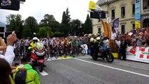 Le Tour de France au départ d'Albertville
