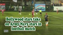 Kargil Vijay Diwas | Bollywood stars take on Army-Navy stars in football match