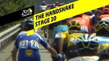 La poignée de main / The handshake - Étape 20 / Stage 20 - Tour de France 2019