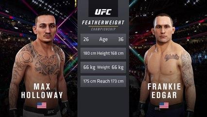 UFC 240: Holloway vs Edgar Featherweight Title Match - CPU Prediction