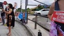 Manifestation contre les animaux dans les cirques à Neydens