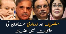 Sharif and Zardari families are in more troubles