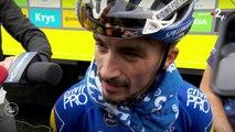 """Tour de France 2019 / Julian Alaphilippe : """"Sans mon coéquipier, j'aurais explosé"""""""