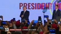 Mécontent de la taxe Gafa, Donald Trump s'en prend au vin français