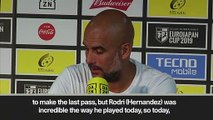 (Subtitled) 'Rodri can be incredible for the next decade' - Guardiola hails new signing and De Bruyne