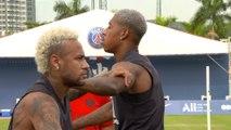 À l'entraînement avec Neymar Jr et Presnel Kimpembe