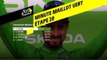 La minute Maillot Vert ŠKODA - Étape 20 - Tour de France 2019