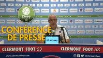 Conférence de presse Clermont Foot - Châteauroux (3-0) : Pascal GASTIEN (CF63) - Nicolas USAI (LBC) - 2019/2020