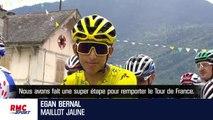 """Tour de France : Bernal dédie ce succès """"à toute la Colombie"""""""