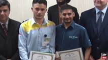 Two Pakistanis honored in UAE for their honesty