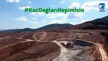 Türkiye'nin oksijen deposunda altın arama faaliyeti