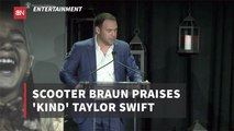 Scooter Braun Tries To Play Nice With Taylor Swift