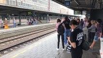 Grève sur le rail: trois trains sur cinq ont circulé