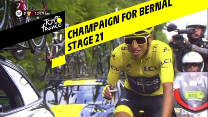 Champagne pour Bernal / Champaign for Bernal - Étape 21 / Stage 21 - Tour de France 2019