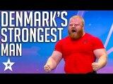 Got Talent's STRONGEST MAN - Denmark's Got Talent - Got Talent Global