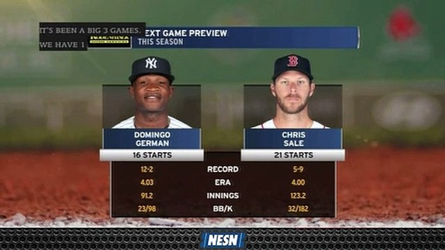 Chris Sale Looks To Help Red Sox Sweep Yankees On Sunday