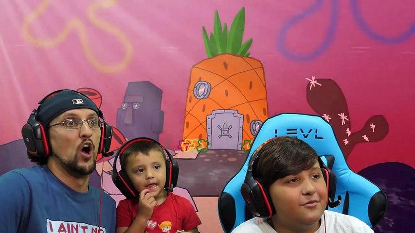 Spongebob Scarepants Fgteev Plays Around The Clock Bb 1 Skit