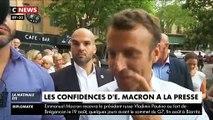 """Le Président Emmanuel Macron à propos des """"Gilets Jaunes"""": """"Je ne crois pas du tout que ce soit derrière nous"""" - VIDEO"""