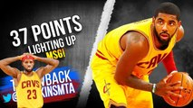 Kyrie Irving Full Highlights 2014.12.04 at Knicks - SiCK 37 Pts, LIGHTING Up MSG- - FreeDawkins