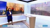 Canicule : du jamais vu en Arctique