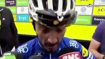 """Tour de France 2019 - Julian Alaphilippe : """"Si on m'avait dit ça il y a 3 semaines, j'y aurais jamais cru"""""""