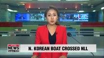 S. Korean military towed N. Korean boat carrying three people after boat crossed NLL