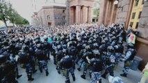 La UE y Amnistía Internacional denuncian las detenciones en Moscú