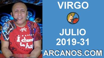 HOROSCOPO VIRGO - Semana 2019-31 Del 28 de julio al 3 de agosto de 2019 - ARCANOS.COM