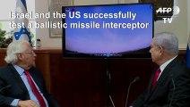 Israel, US successfully test long-range missile interceptor