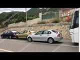 Aksident zinxhir në aksin Pogradec Qafë Thanë, përplaset edhe autobusi i linjës Shqipëri Greqi