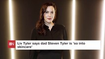 Steven Tyler's Daughter Comments On His Skincare