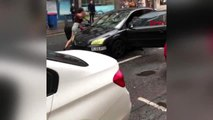 DHA DIŞ- İngiltere'de yol kavgası, trafik terörüne dönüştü