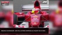 Michael Schumacher : Son fils Mick lui rend hommage au volant de sa Ferrari F2004 (Vidéo)