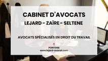 Cabinet d'Avocats Lejard, Zaïre, Seltene, avocats en droit du travail à Pontoise.