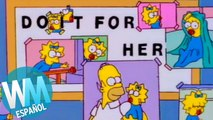 Top 10 Momentos de Los Simpson QUE TE HARÁN LLORAR