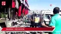 Afrin'de patlama 1 ölü, 4 yaralı