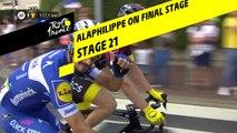 Alaphilippe sur la dernière étape / Alaphilippe on final stage - Étape 21 / Stage 21 - Tour de France 2019