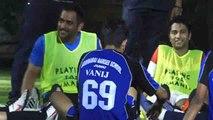 MS Dhoni, Arjun Kapoor, Ranbir Kapoor and others Playing Football, Watch Video | वनइंडिया हिंदी
