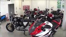 Honda Motorcycles shop in Japan