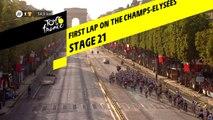 Premier tour aux Champs-Elysées / First lap on the Champs-Elysées - Étape 21 / Stage 21 - Tour de France 2019